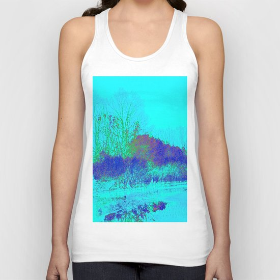 Emerging from the fog Unisex Tank Top
