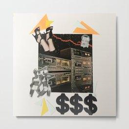 Cash Rules Metal Print
