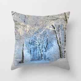 Another winter wonderland Throw Pillow