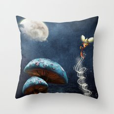 Tales of the Night Throw Pillow
