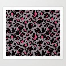 tiger pattern Art Print