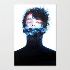 Stille Wasser Sind Tief Canvas Print