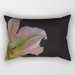 Rose and Green Tulip by Teresa Thompson Rectangular Pillow
