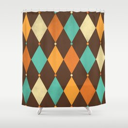 Circus Pattern #3 Shower Curtain