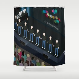 Apple iPhone Keynote Shower Curtain