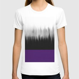 Asexuality Spectrum Flag T-shirt