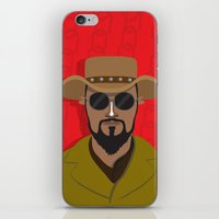 django iPhone & iPod Skins featuring Django by Mohac