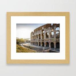 The Colosseum of Rome Framed Art Print