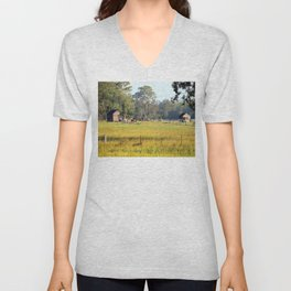 Life on the Land Unisex V-Neck