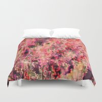 fantasy Duvet Covers featuring Fantasy by Aloke Design
