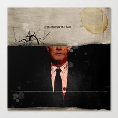 Twin Peaks | Is It Future or is It Past Canvas Print