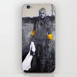 Nina and the swan iPhone Skin