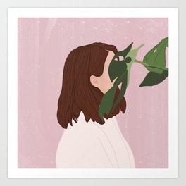 Myself Art Print