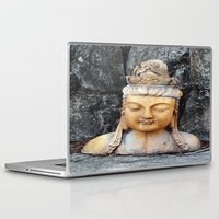 asian Laptop & iPad Skins featuring ASIAN GODDESS by JANUARY FROST