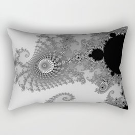 males mandelbrot abstract Rectangular Pillow