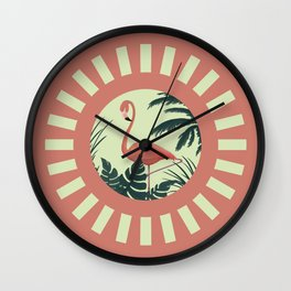 Poised Wall Clock