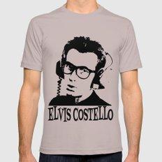 Elvis Costello | Headphones Mens Fitted Tee LARGE Cinder