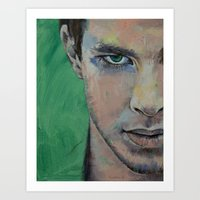 street fighter Art Prints featuring Fighter by Michael Creese