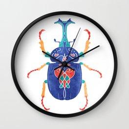 Vibrant Beetle 1 Wall Clock