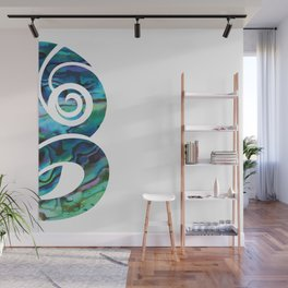 Tiki White Wall Mural