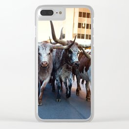 Denver National Western Stock Show Kick-of Parade 2018 Clear iPhone Case