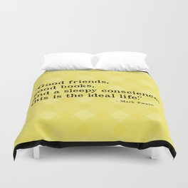 The Ideal Life Duvet Cover