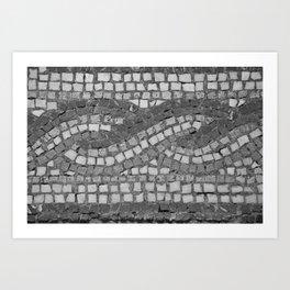 stone tiles 4378 Art Print