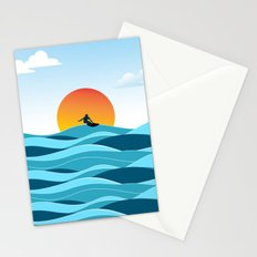 Surfing 1 Stationery Cards