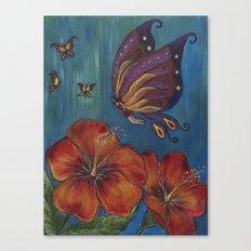 Butterfly Fairy Canvas Print