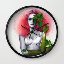 Garden Girls 3 - Mint Wall Clock