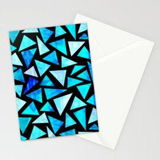 Blue Triangle Mountains Stationery Cards