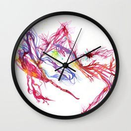Galactic Blush Wall Clock