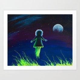 Dream Field Spectre Art Print