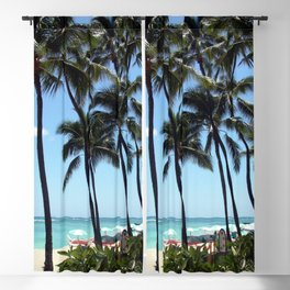 Waikiki Beach Blackout Curtain