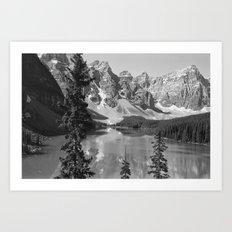 Moraine Lake, Alberta, Canada Art Print