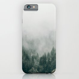 Foggy Forest 3 iPhone Case