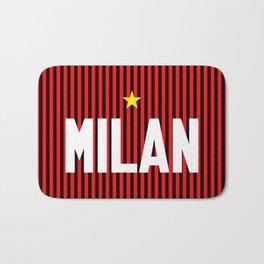I Rossoneri Milano Bath Mat