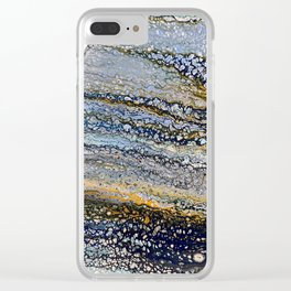 Tides 2 Clear iPhone Case