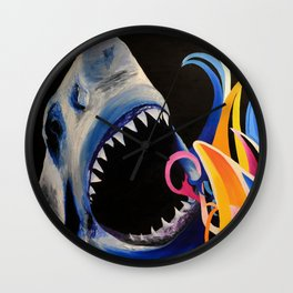 Anger Management Wall Clock