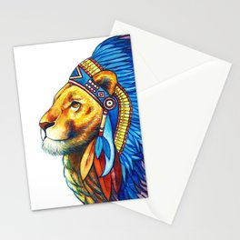The Lion Chief Stationery Cards