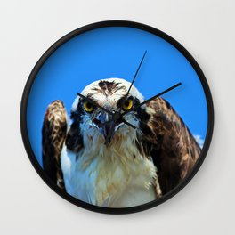 Who Are You Lookin At Wall Clock