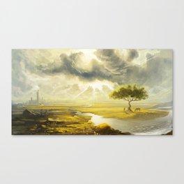 Bright Valley Canvas Print