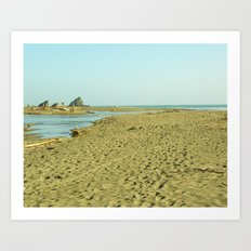 Navaro Beach II Art Print