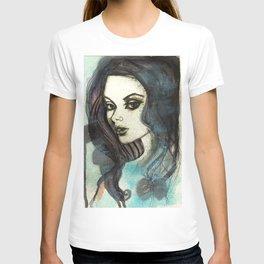 the Blue  T-shirt
