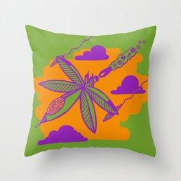 Peace Pilot Throw Pillow