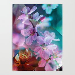 Double Flowers Poster