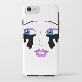 Eyes with no face iPhone Case