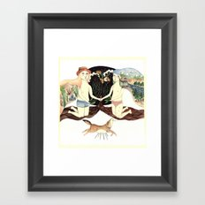 About This Time Framed Art Print