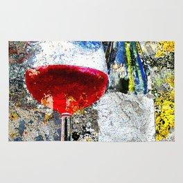 Wine Art Rug