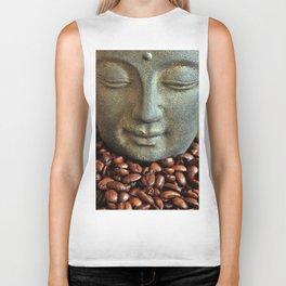 Coffee Buddha 3 Biker Tank